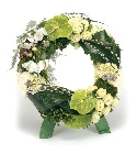 Oasis Bioline Large Wreath On Stand